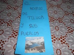Folleto Nevado de Toluca